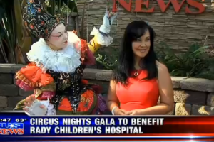 Viaggio by iL CiRCo Helps Raise Money for Rady Children's Hospital